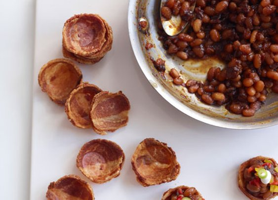 Here's How to Make Cups Out of Bacon: BA Daily: Blogs :   bonappetit.com