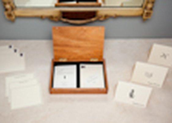 Letterpress Correspondence System - Forgetful Gentleman