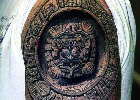 Mayan 3D Tattoo