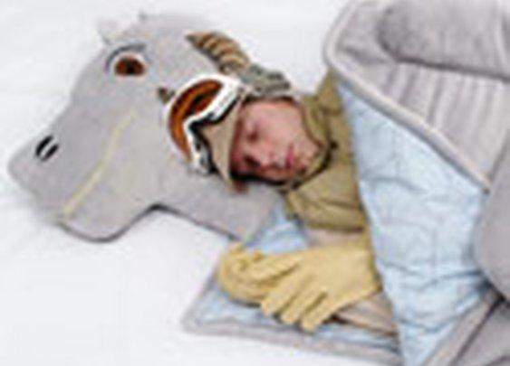 ThinkGeek :: Tauntaun Sleeping Bag