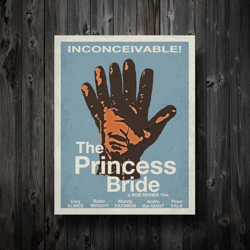 The Princess Bride Minimalist Movie Poster