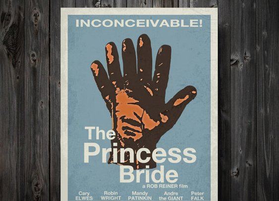 The Princess Bride Minimalist Movie Poster