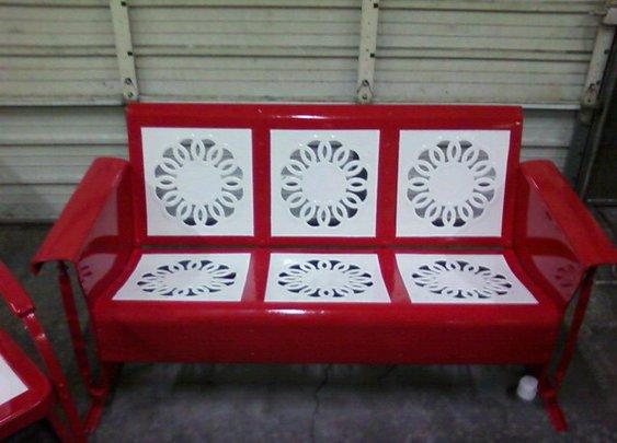 Vintage Porch Gliders