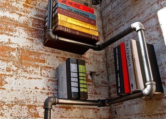 Search Results    pipe bookshelves - There, I Fixed It - Redneck Repairs