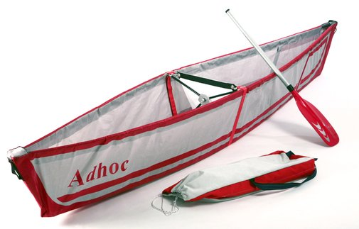 folding canoe, fits in a backpack