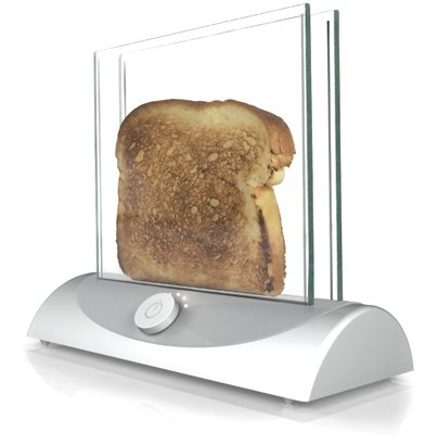 Transparent Toaster gives you clear view of bread's crispiness -- Engadget