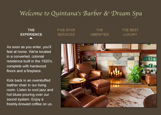 Welcome to Quintana's Barber & Dream Spa