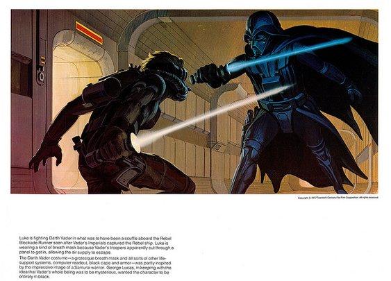 Ralph McQuarries Star Wars-Portfolio (1977) - Flickr