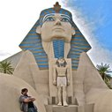 Chillin' at the Luxor