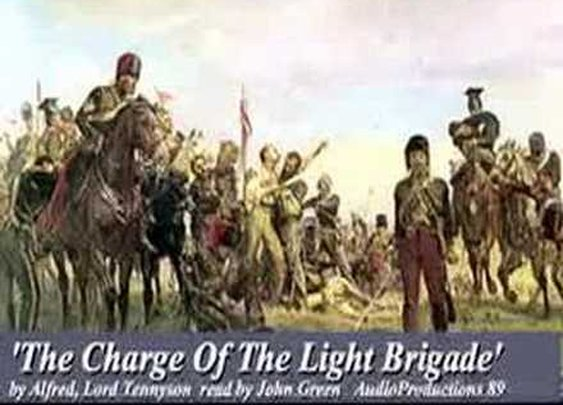 Tennyson -Alfred, Lord  'Charge of the Light Brigade '-      - YouTube