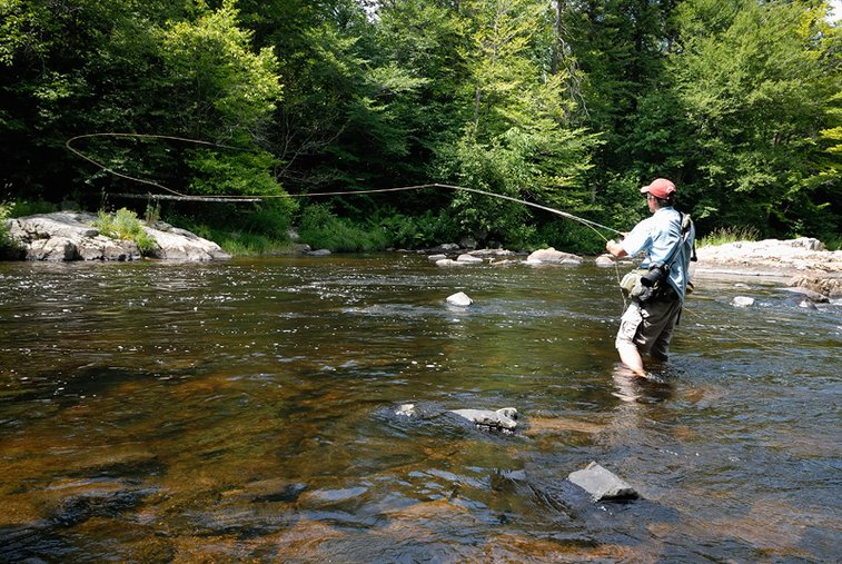 New York Adirondack and western New York fly fishing