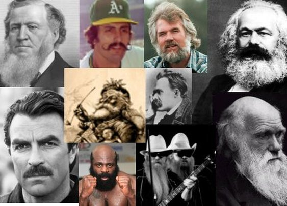Manliest Mustaches and Beards of History