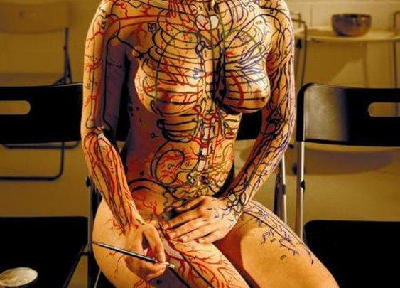 Badass Anatomy tattoo