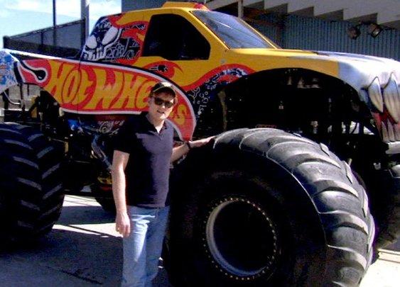 Conan Drives Bad-Ass Monster Trucks