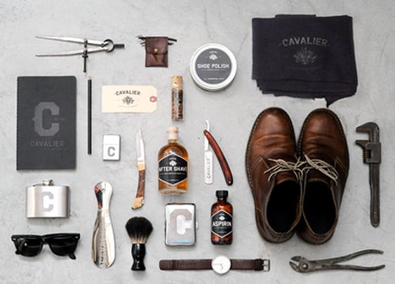 Designspiration — Dribbble - Cavalier Essential Accoutrements by Taylor Pemberton