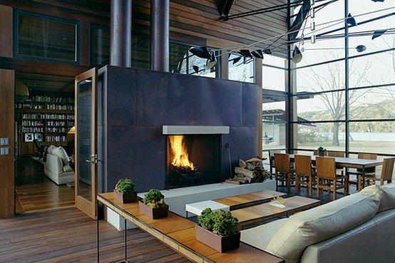project: lake austin house  designer: lake flato