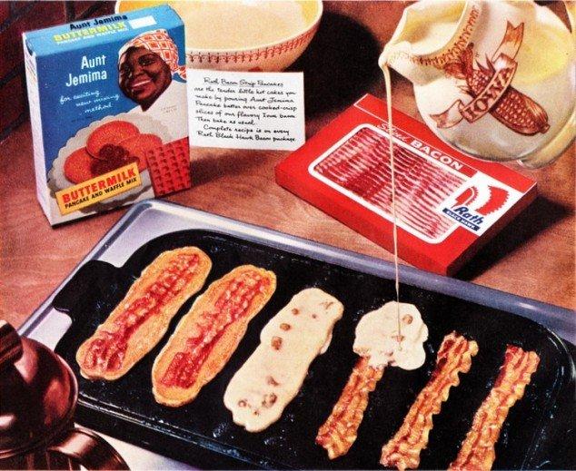 Bacon pancakes - 22 Words