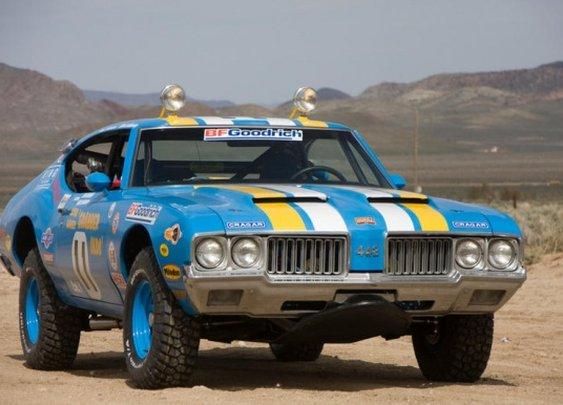 James Garner Baja Rig: 1970 Oldsmobile 442