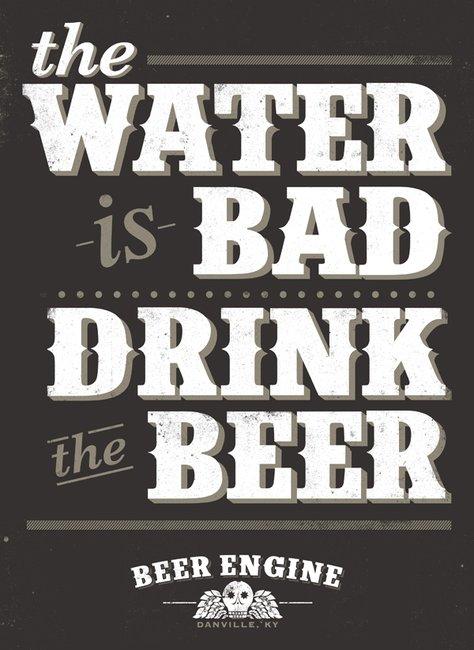 Bryan Patrick Todd - Design & Illustration - Blog - DON'T DRINK THEWATER