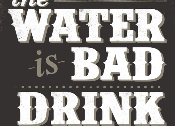 Bryan Patrick Todd - Design & Illustration - Blog - DON'T DRINK THE WATER