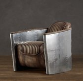 Aviator Chair Distressed Whiskey | Leather  | Restoration Hardware