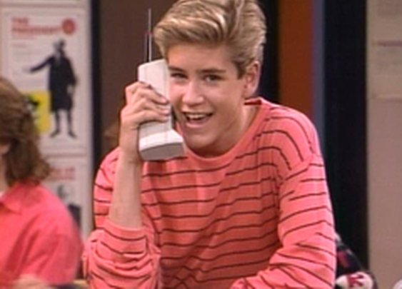 Zack Morris Cell Phone   Zack Morris Cell Phone