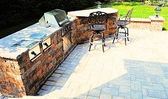 Outdoor Kitchens – Contemporary Stonescapes