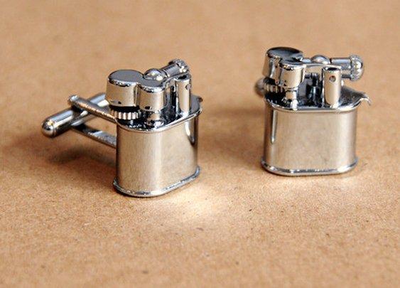 Lighter Cufflinks - Cool Material