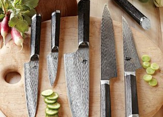 Shun Fuji 7-Piece Knife Block Set | Williams-Sonoma