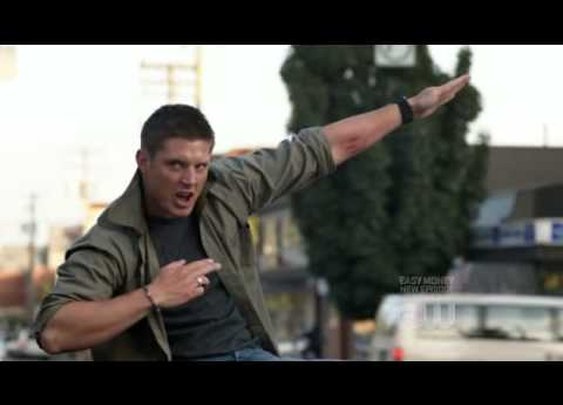 Supernatural Dean Singing Eye Of The Tiger FULL High Quality      - YouTube