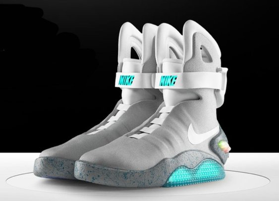 Back To The Future Nike Air Mag Trainers