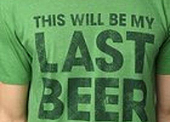 My Last Beer Tee