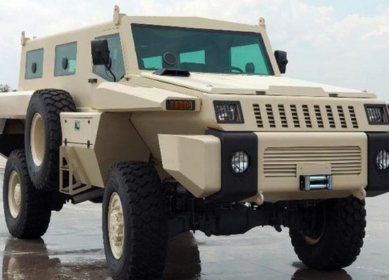 Monstrous Paramount Marauder Armored Vehicle to Star in First Episode of Top Gear Season 17