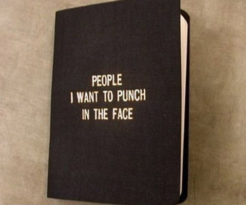 People I Want to Punch in the Face - DudeIWantThat.com