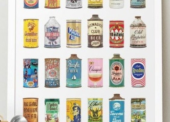 beer: a genuine collection of beer cans by Dan Becker & Lance Wilson