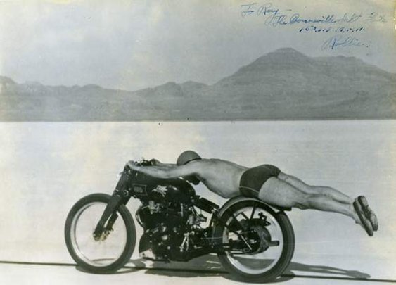 Vincent Black Lightning - no motorcycle is more manly than this!