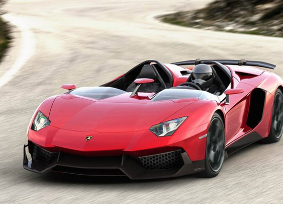 Lamborghini Aventador J roadster is a sport bike built for two, and it's for sale