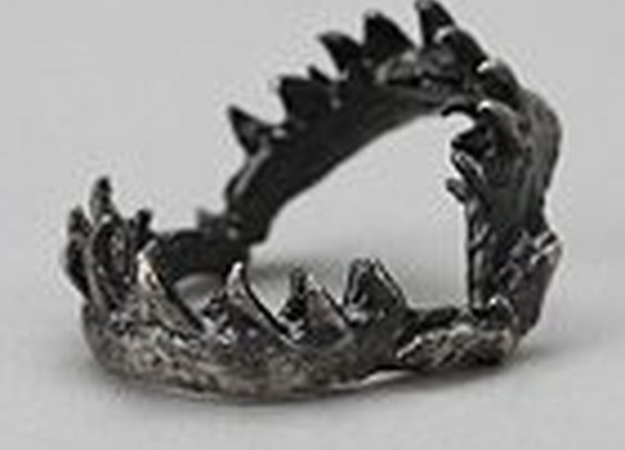 OBEY Shark Jaw Ring