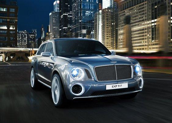 Bentley Sport Utility Vehicle Concept