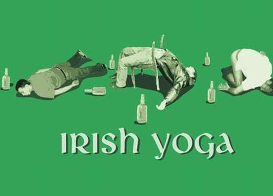 Irish Yoga.
