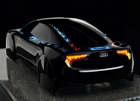 Audi Visions OLED Technology Demoed (Video)