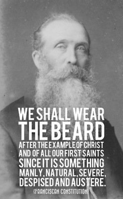 "BEARDED GOSPEL MEN • ""We shall wear the beard after the example of..."