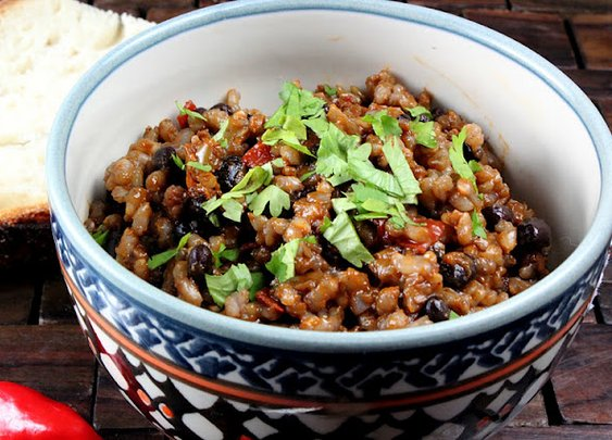 Cuban Style Rice and Beans