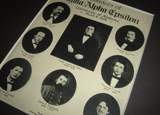 Founders of Sigma Alpha Epsilon Fraternity