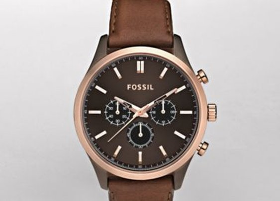 FOSSIL® Watch Styles Dress:Mens Walter Leather Watch