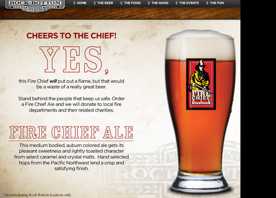 Fire Chief 2012 - The Beer