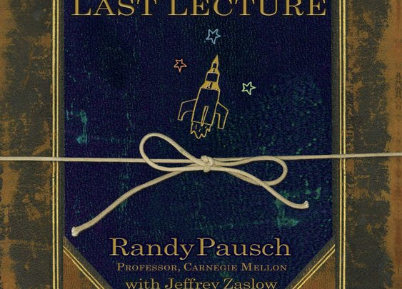 The Last Lecture by Randy Pausch (My favorite book)