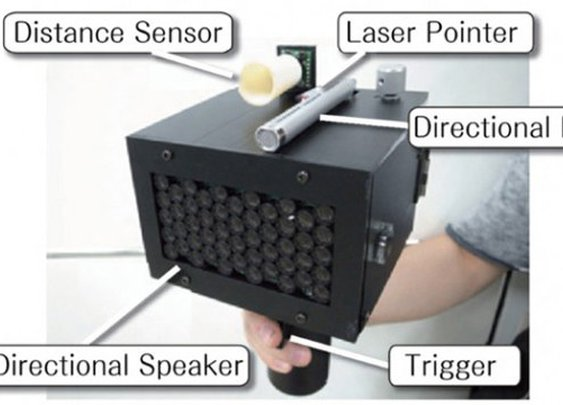 STFU Gun: Speech Jammer Stops People Talking
