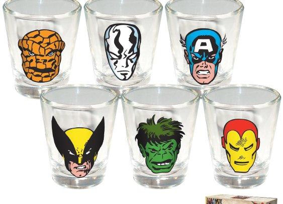 Marvel Comics Shot Glasses
