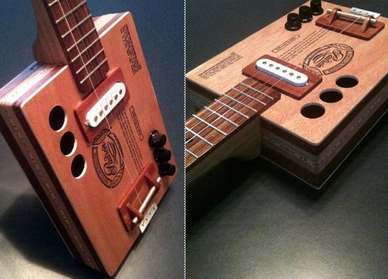 Cigar Box Guitar - DudeIWantThat.com